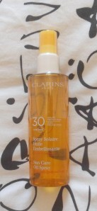 spray solaire clarins