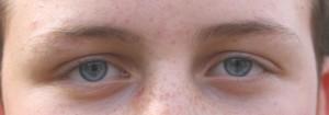 yeux valentin