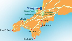Newquay-map