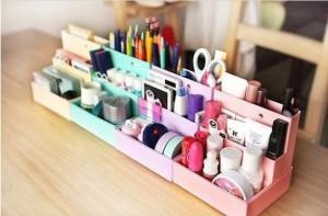 Free-shipping-DIY-folding-cosmetics-storage-box-4pcs-lot-cute-Paper-Desktop-Storage-Box